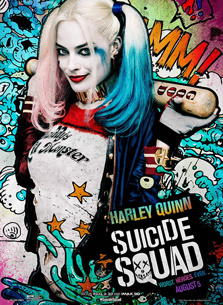 Suicide Squad hits theaters this weekend!